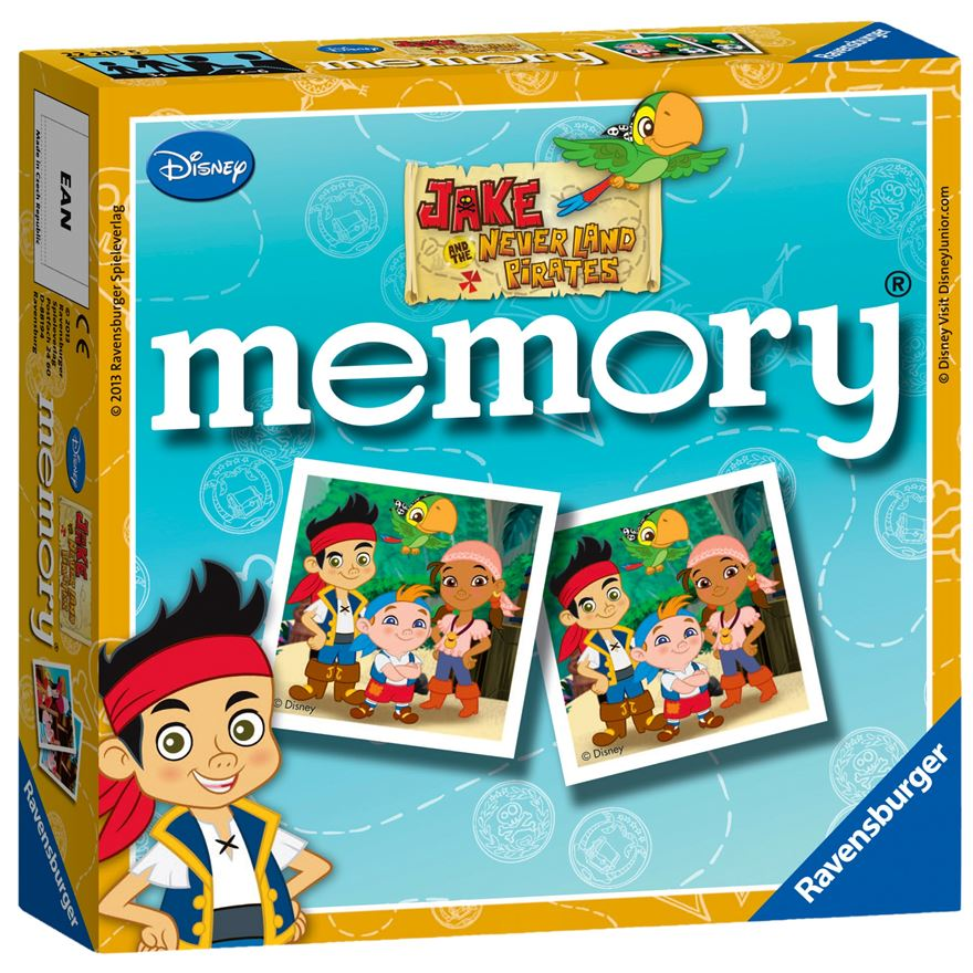 Ravensburger Jake & the Never Land Pirates Mini memory image-0