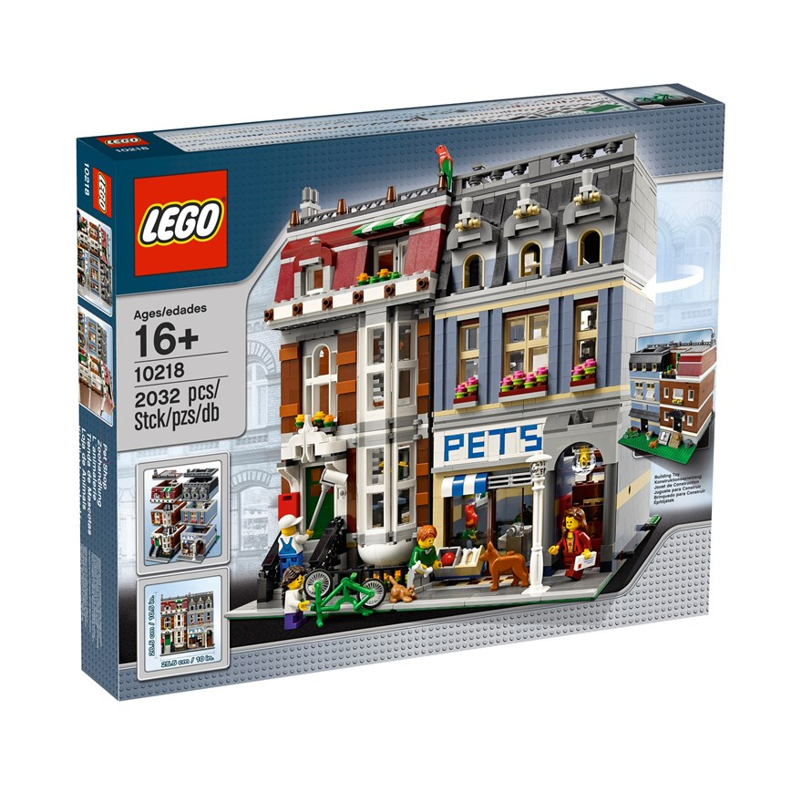 LEGO Creator Pet Shop 10218 image-0