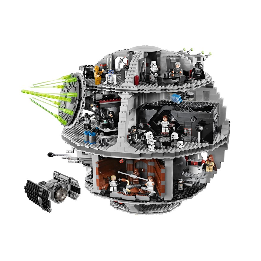 LEGO Star Wars Death Star 10188 image-1