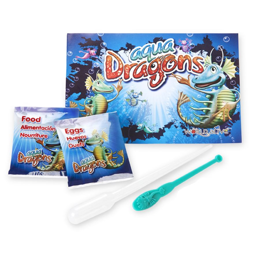 Aqua Dragons Eggs and Food Blister Pack image-1