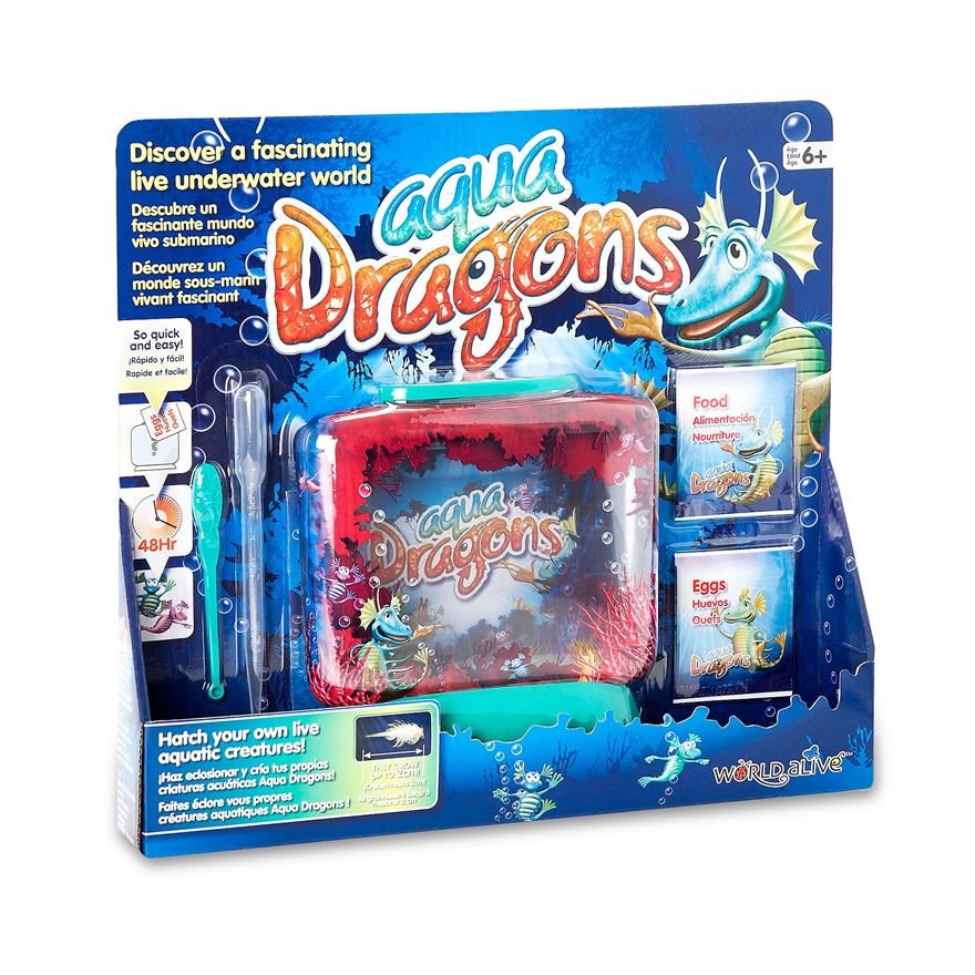 Aqua Dragons Eggs and Food Blister Pack image-3