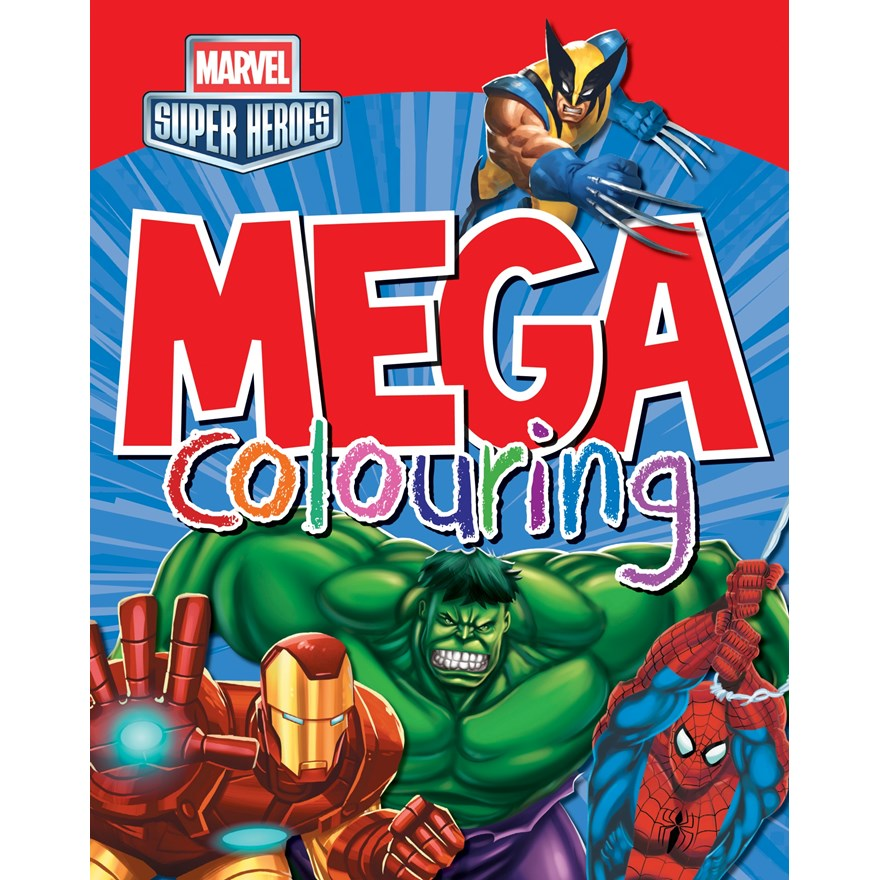 Marvel Super Heroes Mega Colouring