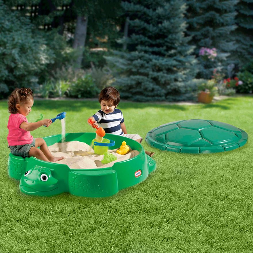 Little Tikes Turtle Sandbox image-0