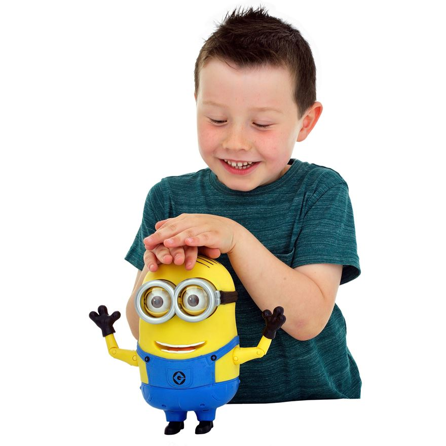 Despicable Me 2 20cm Talking Minion Dave image-2
