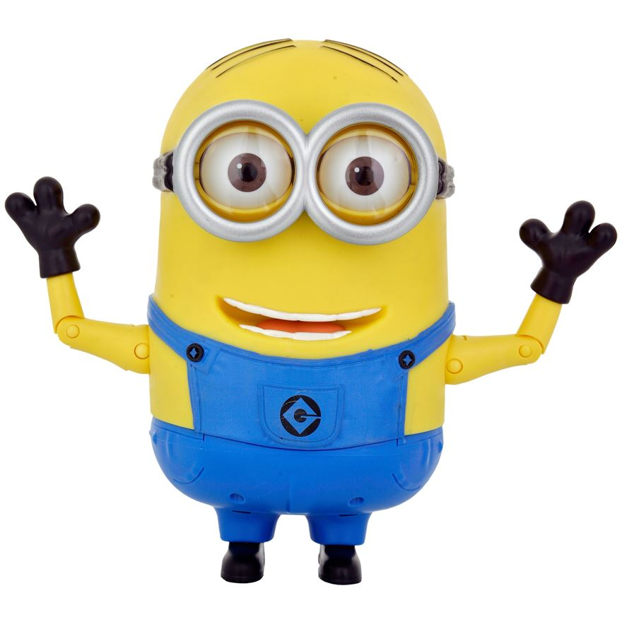 Despicable Me 2 20cm Talking Minion Dave image-3