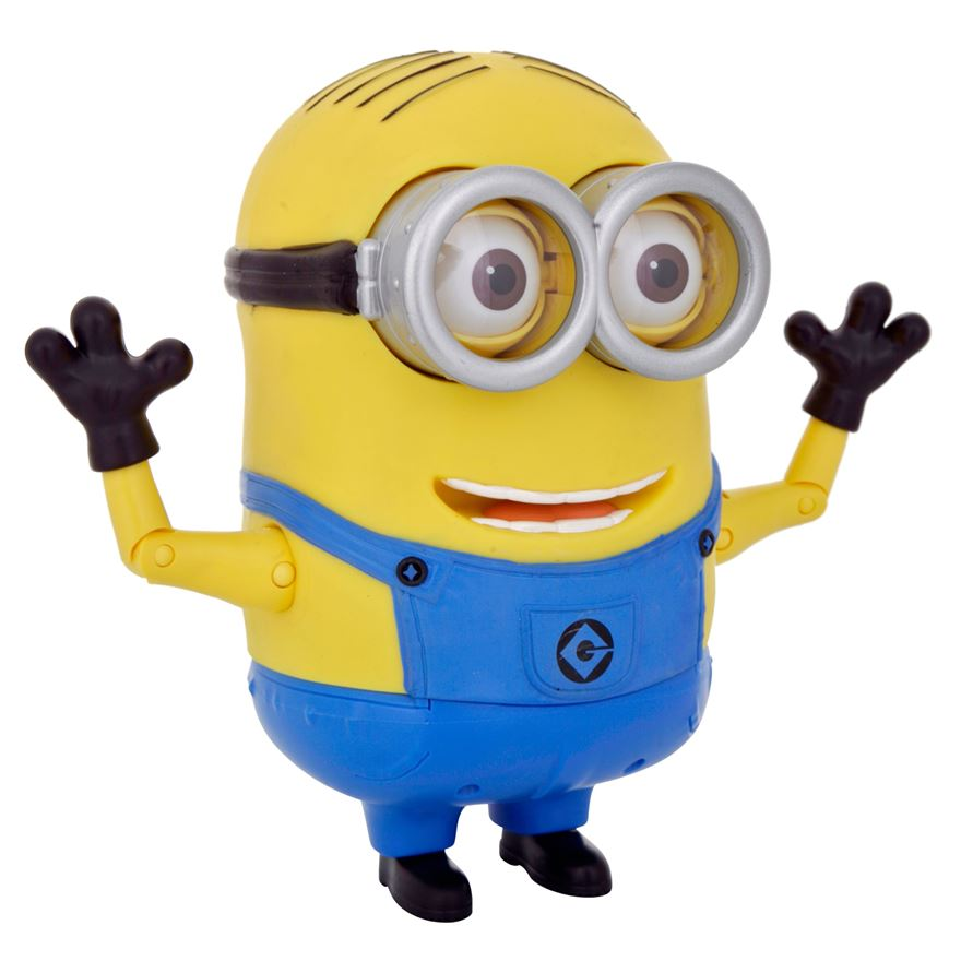 Despicable Me 2 20cm Talking Minion Dave image-4