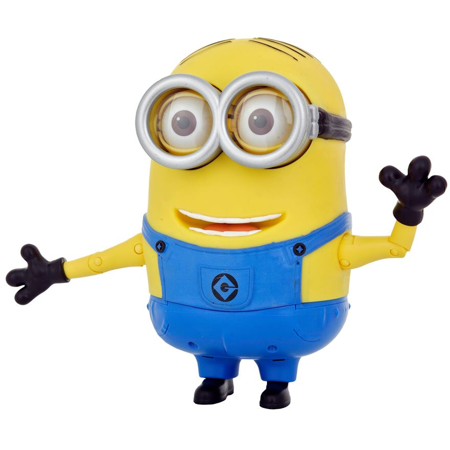 Despicable Me 2 20cm Talking Minion Dave image-5