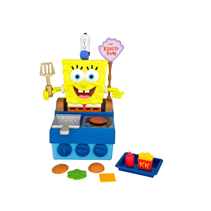 SpongeBob SquarePants Talking Krabby Patty Maker image-1