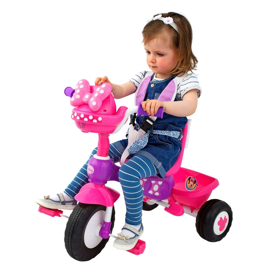 Minnie Mouse Push n Ride Trike image-0