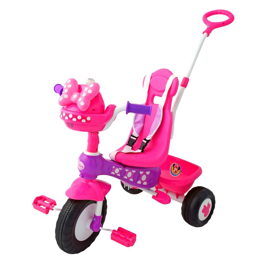 Minnie Mouse Push n Ride Trike image-1