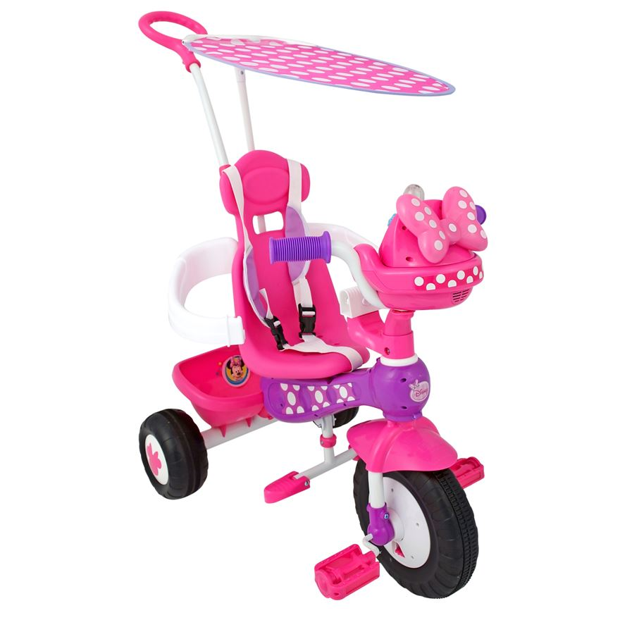Minnie Mouse Push n Ride Trike image-2