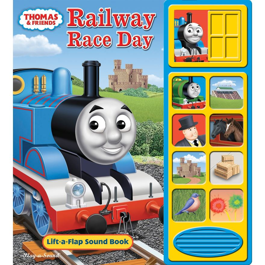 Thomas Railway Race Day Sound Book