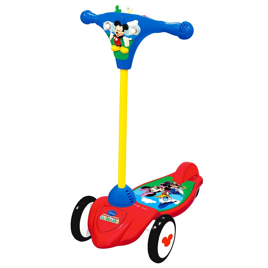 My First Mickey Activity Scooter image-0
