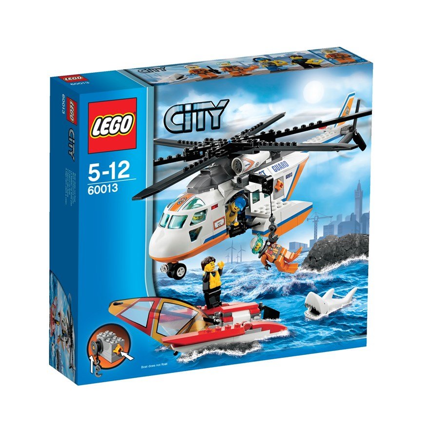 LEGO City Coast Guard Helicopter 60013