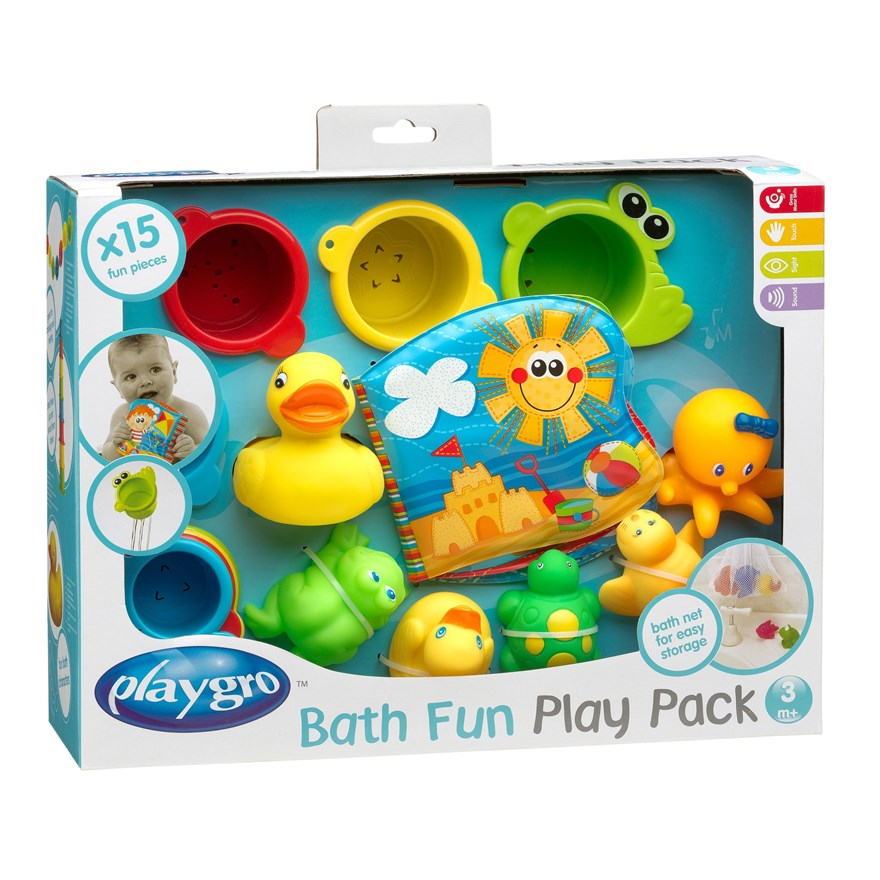 Playgro Bath Fun Play Pack image-0