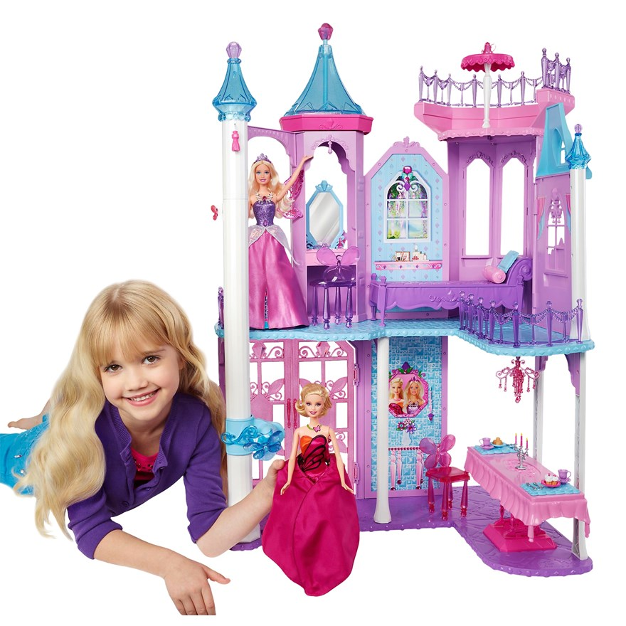 Barbie Mariposa Castle image-4