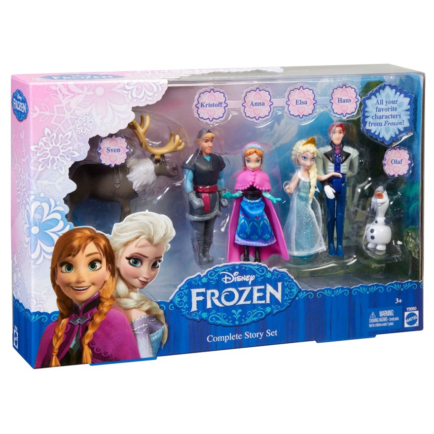 Disney Frozen Figurine Story Set image-1
