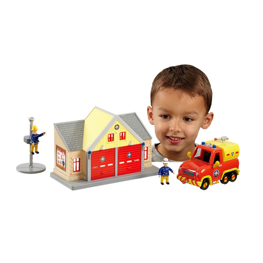 Sam Toys Station Fireman Sam Fire Station And