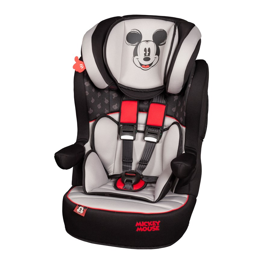 Imax Deluxe SP Mickey Mouse Group 1-2-3 Car Seat image-0
