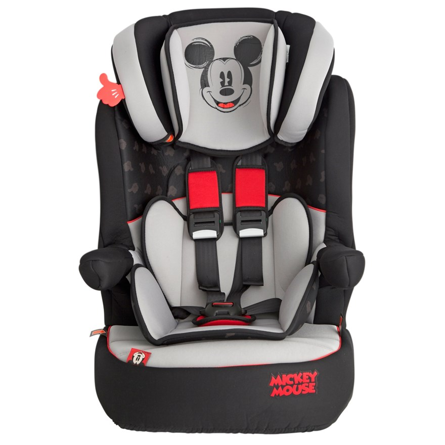 Imax Deluxe SP Mickey Mouse Group 1-2-3 Car Seat image-1