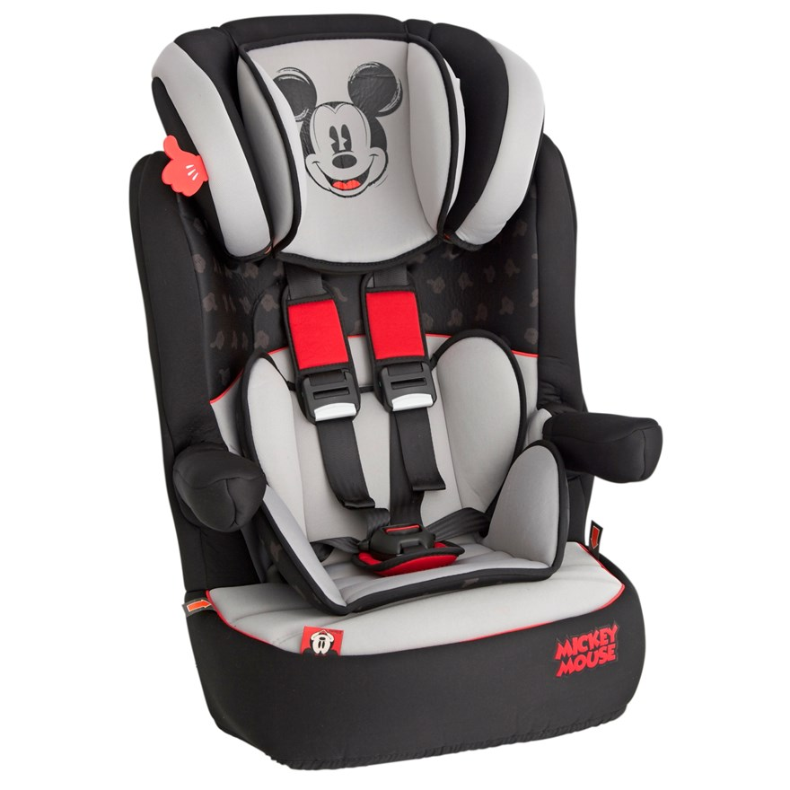 Imax Deluxe SP Mickey Mouse Group 1-2-3 Car Seat image-2
