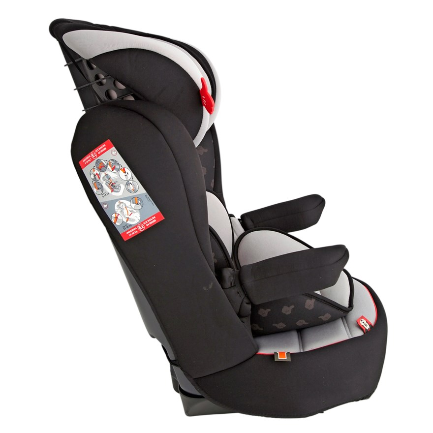Imax Deluxe SP Mickey Mouse Group 1-2-3 Car Seat image-3