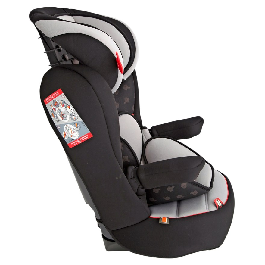 Imax Deluxe SP Mickey Mouse Group 1-2-3 Car Seat image-4