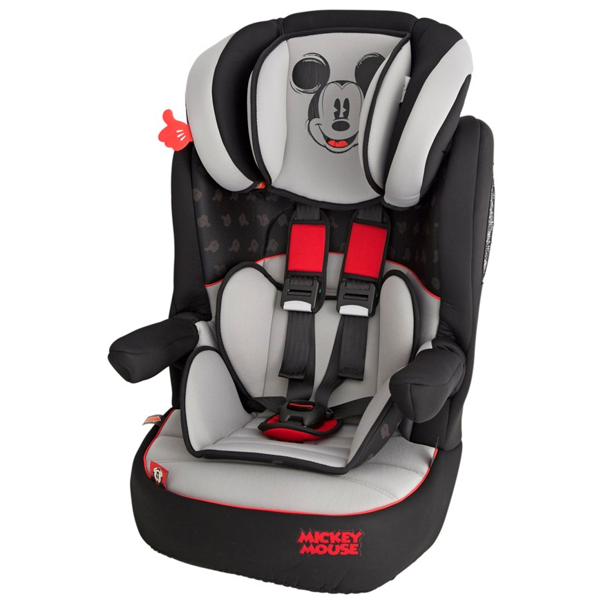 Imax Deluxe SP Mickey Mouse Group 1-2-3 Car Seat image-5