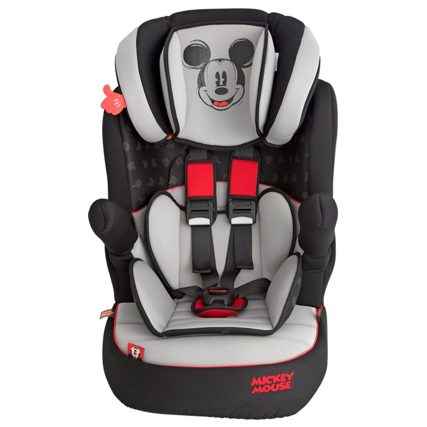 Imax Deluxe SP Mickey Mouse Group 1-2-3 Car Seat image-6