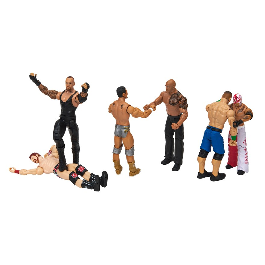 WWE Basic 6 Figure Gift Pack image-0