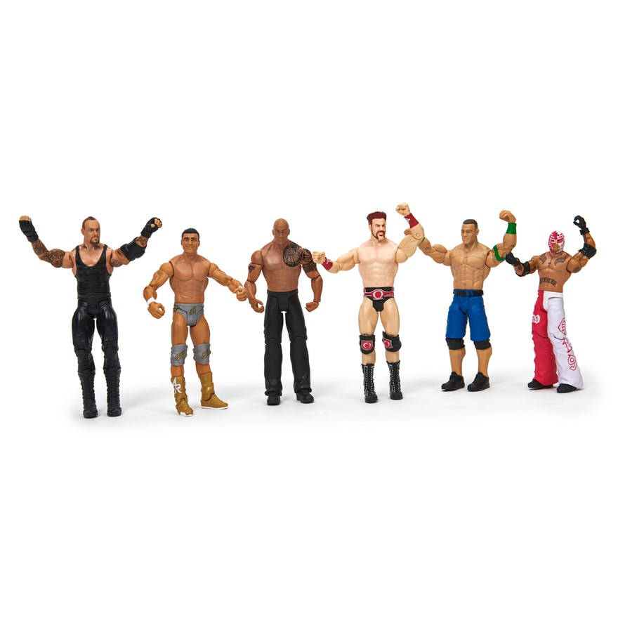 WWE Basic 6 Figure Gift Pack image-1