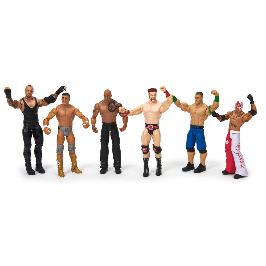 WWE Basic 6 Figure Gift Pack image-2