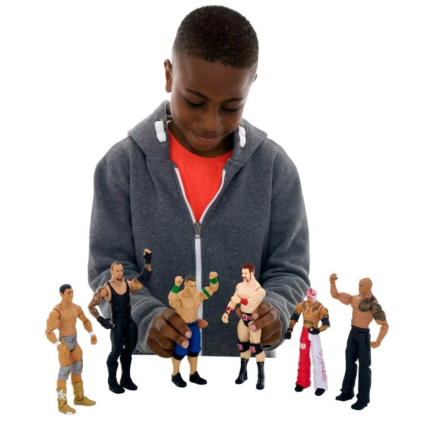 WWE Basic 6 Figure Gift Pack image-4