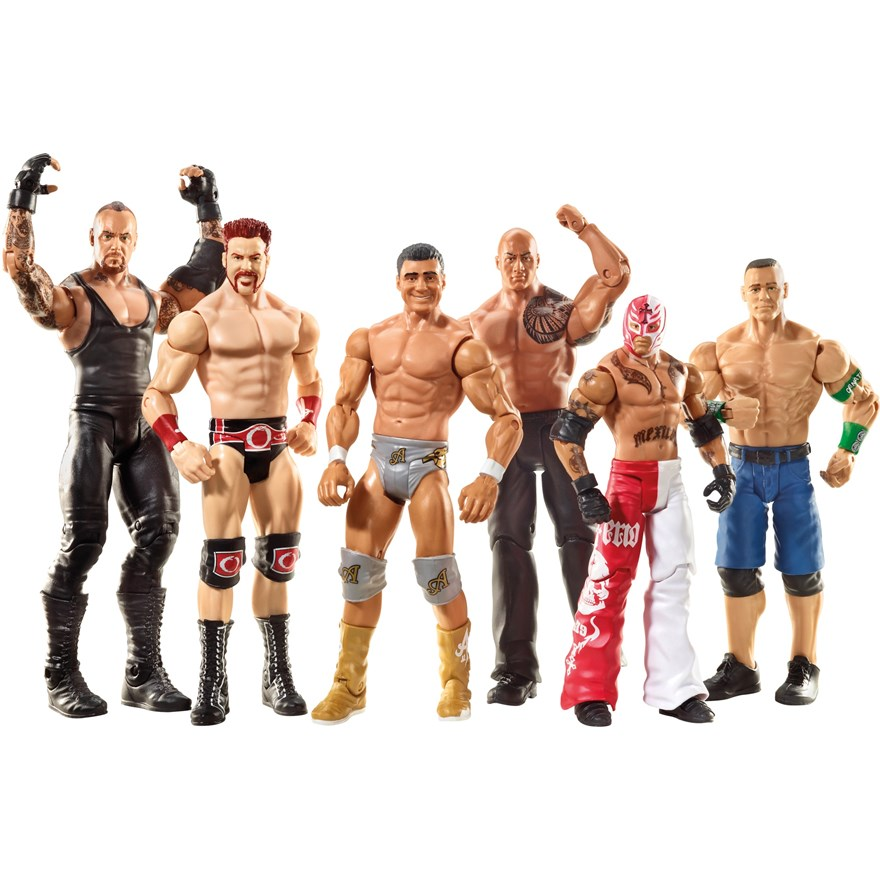 WWE Basic 6 Figure Gift Pack image-5