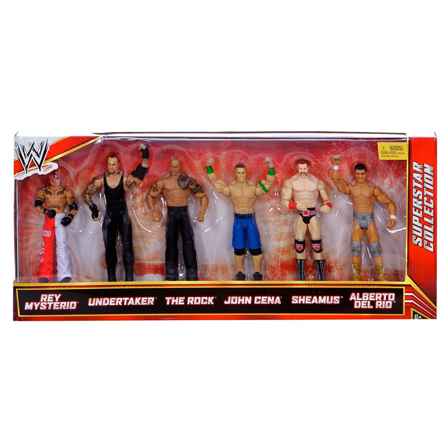 WWE Basic 6 Figure Gift Pack image-6