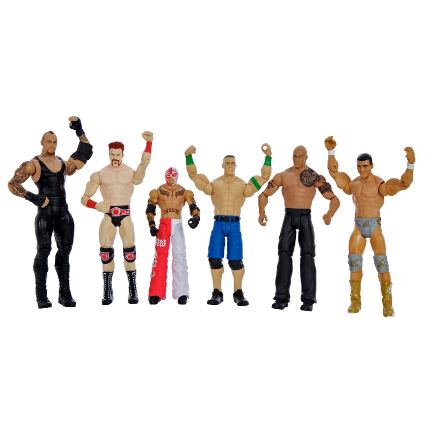 WWE Basic 6 Figure Gift Pack image-7