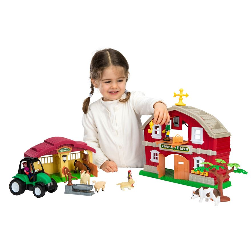 Country Farm Electronic Farm House Playset image-0