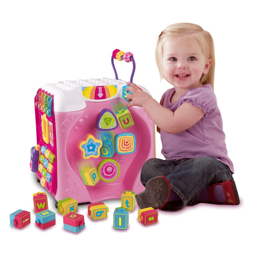 Vtech Discovery Cube Pink image-0