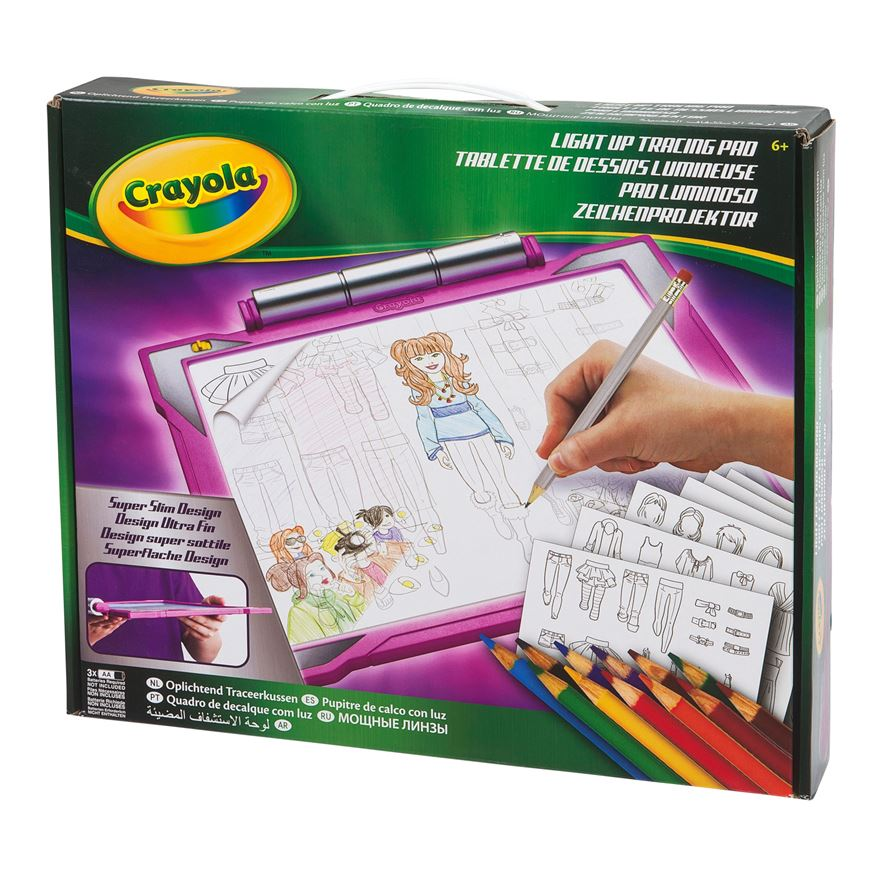 Crayola Light Up Tracing Pad image-0