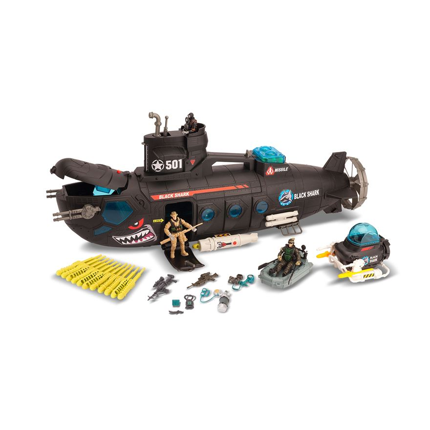 Soldier Force Submarine Playset image-1