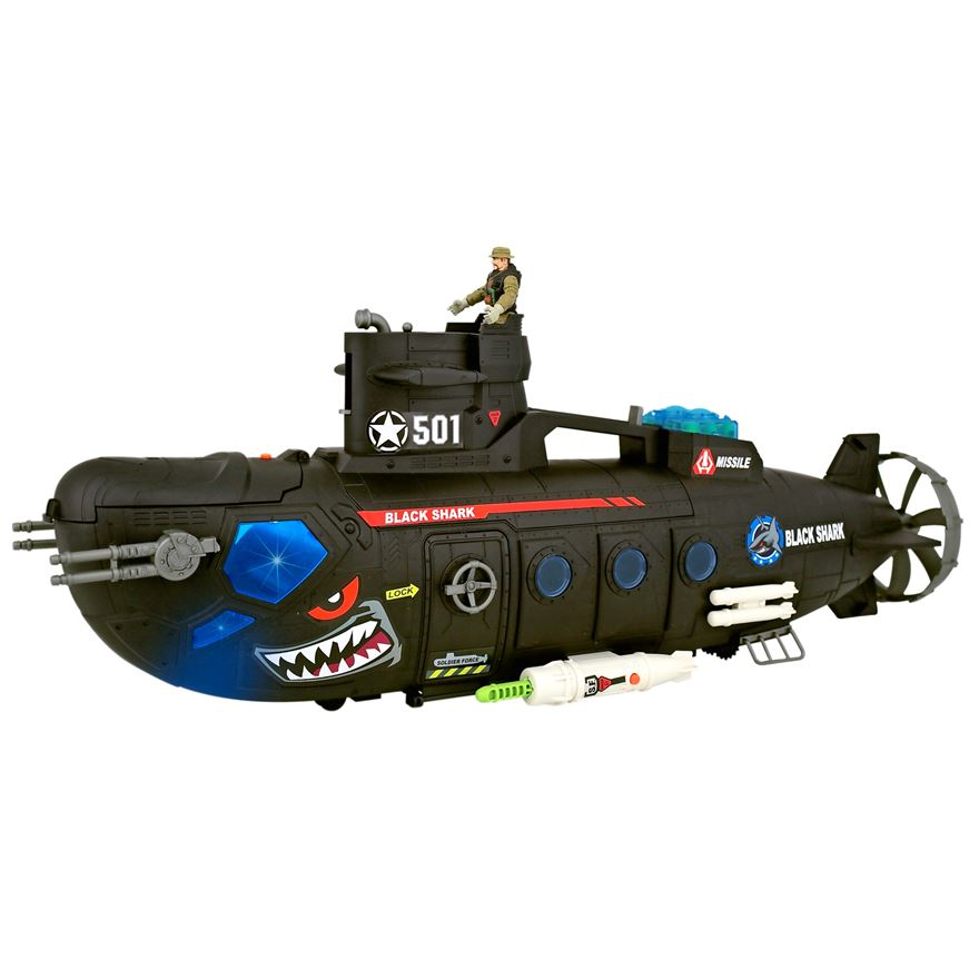 Soldier Force Submarine Playset image-2