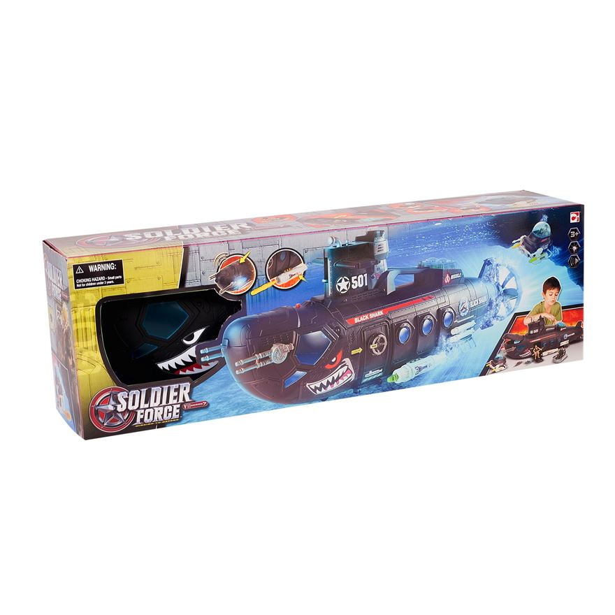 Soldier Force Submarine Playset image-3