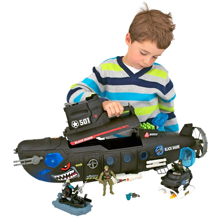 Soldier Force Submarine Playset image-4