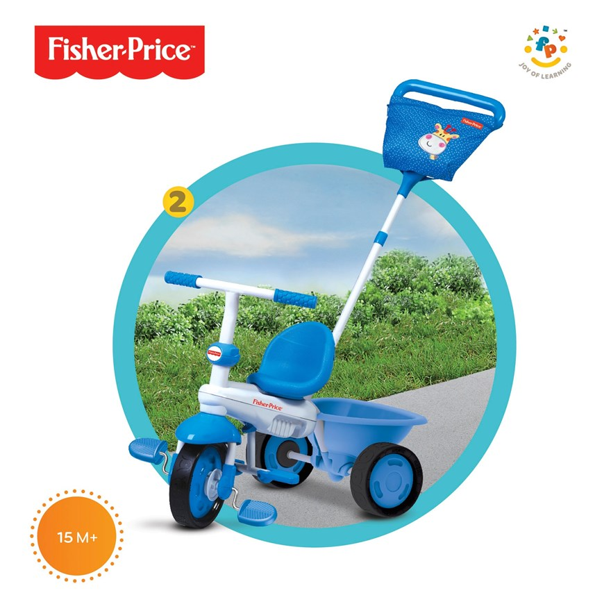 Fisher-Price Elite 3 in 1 Blue Trike image-1