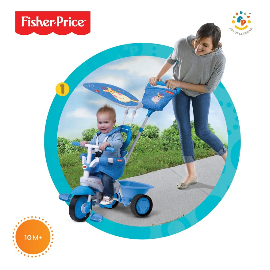 Fisher-Price Elite 3 in 1 Blue Trike image-2