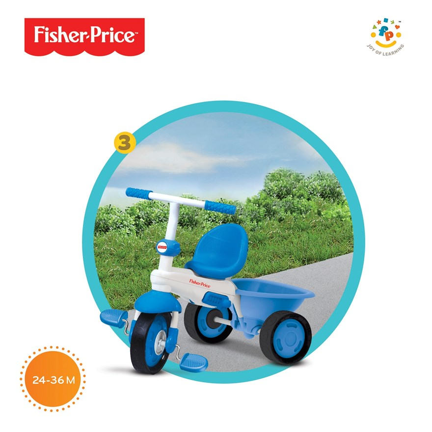 Fisher-Price Elite 3 in 1 Blue Trike image-3