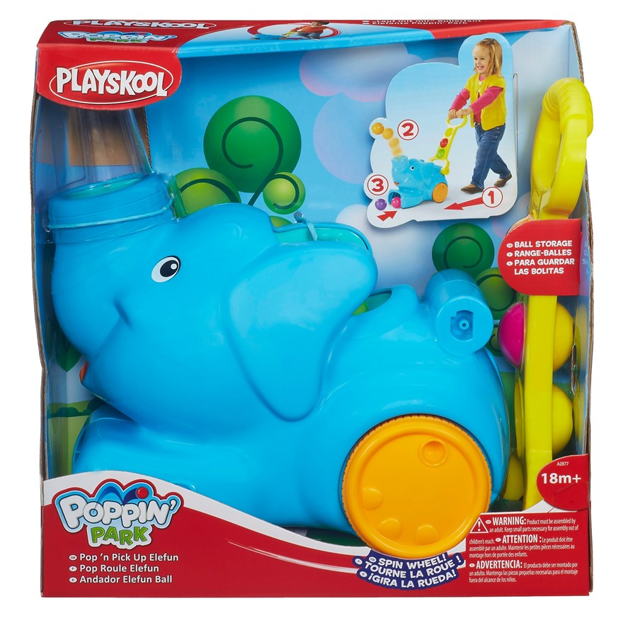 Playskool Pop N Pick Up Elefun image-3