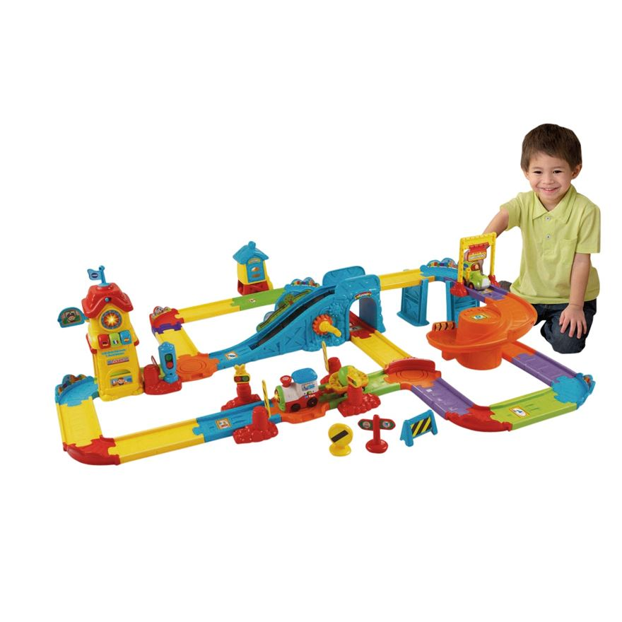 VTech Toot-Toot Drivers Train Station image-0