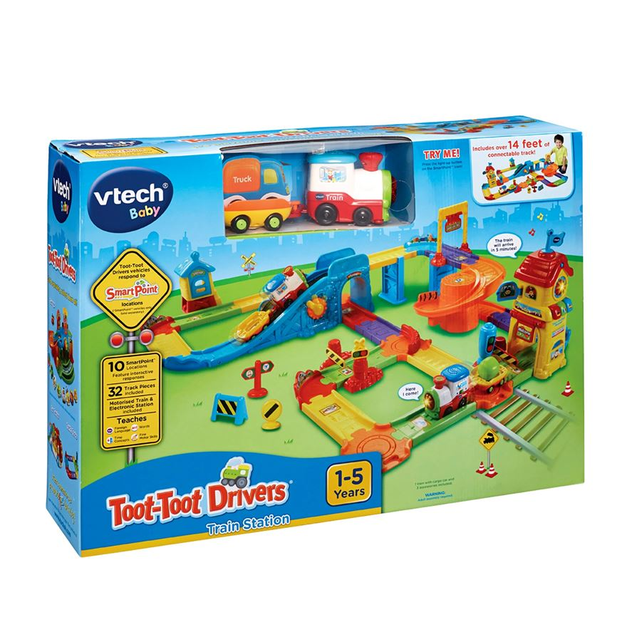VTech Toot-Toot Drivers Train Station image-1