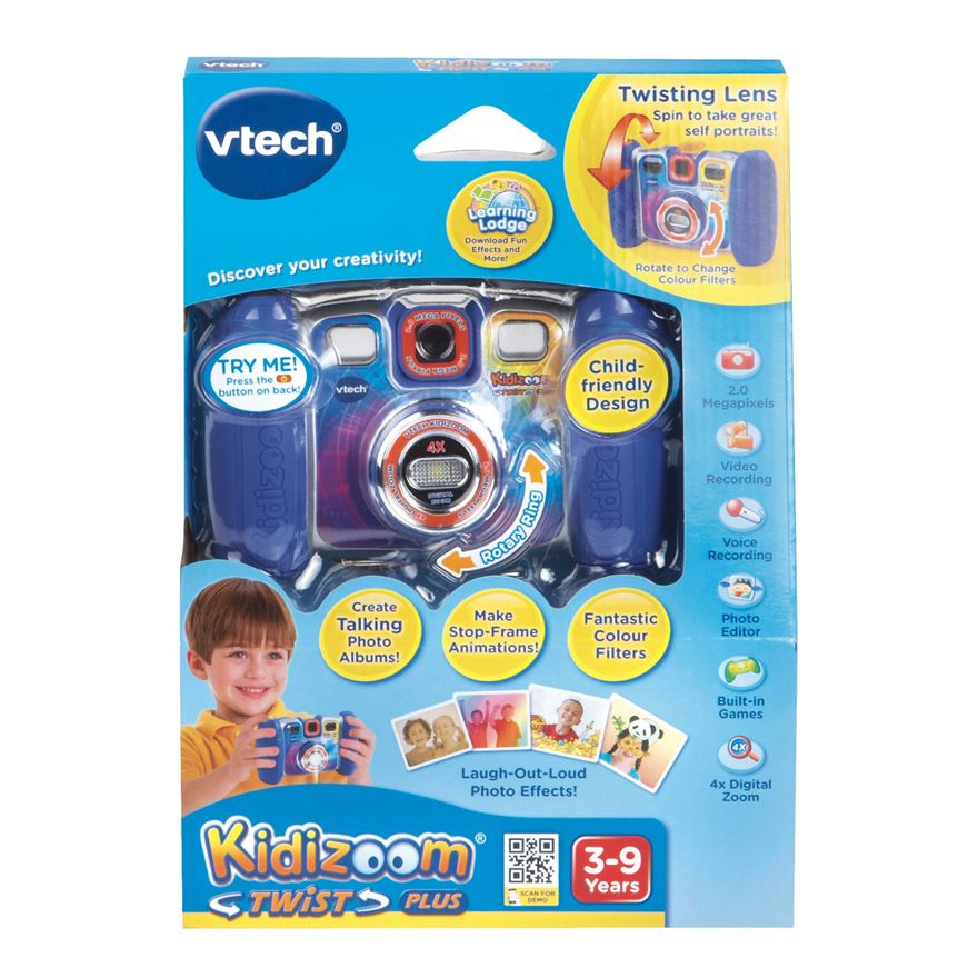 VTech Kidizoom Twist Plus Blue image-2